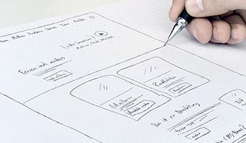 webdesign mockup